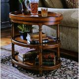 Hooker Furniture Seven Seas Tray Table Wood in Brown/Red, Size 25.25 H x 28.0 W x 20.0 D in   Wayfair 500-50-590