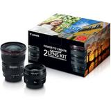 Canon Advanced 2 Lens Kit with 50mm f/1.4 and 17-40mm f/4L Lenses 2515A034AA