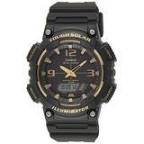 Black Mens Analog-Digital Casual Solar Casio Watch Solar Powered AQ-S810W-1A3