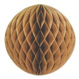 The Beistle Company Kraft Paper Ball Paper in Brown, Size 12.0 H x 12.0 W x 12.0 D in   Wayfair 59878
