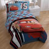 Disney Cars 95 Sheet Set Polyester in Blue | Wayfair JF28622WFML