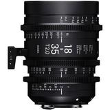 Sigma 18-35mm T2 High-Speed Zoom Lens (Canon EF) 210966