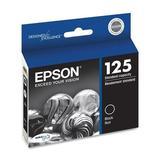 T125120 Epson DURABrite Ink Cartridge - Black - Inkjet - 1 Each