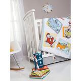 Trend Lab Dr. Seuss Friends 5 Piece Crib Bedding Set Polyester in Gray, Size 35.0 W in | Wayfair 30016