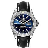 Breitling Galactic 41 Blue Dial Stainless Steel Men's Watch