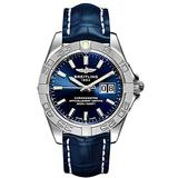 Breitling Galactic 41 Blue Dial Stainless Steel Men's Watch A49350L2/C929-719P