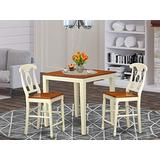 3 Pc counter height Dining set - counter height Table and 2 Kitchen Chairs.