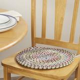 Langley Street® Cavallo Chair Pad in Yellow, Size 0.5 H x 15.0 W x 15.0 D in | Wayfair CHRL1922 37605784