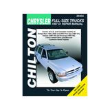 1997-2001 Dodge Ram 3500 Paper Repair Manual - Chilton