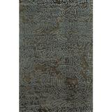 Latitude Run® Dixon Abstract Hand Knotted Wool Light Gray Area RugWool in Brown/Gray, Size 120.0 H x 30.0 W x 0.31 D in   Wayfair LATT3279 37776742