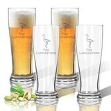 Carved Solutions Personalized 14 oz. Plastic Pilsner Glass Plastic, Size 7.0 H x 2.8 W in | Wayfair ACL-TPIL14S4-pd-flamingo-copperplate