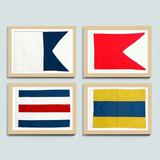 Suzanne Kasler Seafarer Nautical Flags - Ballard Designs