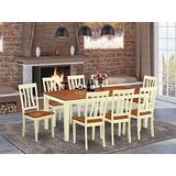 9 PC Kitchen nook Dining set -Dining Table and 8 Dining Chairs
