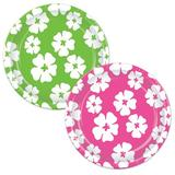 The Beistle Company Hibiscus Paper Appetizer Paper in Green | Wayfair 58071