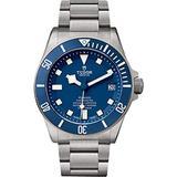 Tudor Pelagos 25600TB Blue Dial Mens Watch w/ Titanium Case & Bracelet
