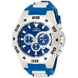 Invicta Men's Pro Diver Stainless Steel Quartz Watch with Polyurethane Strap, Two Tone, 30 (Model: 24677)
