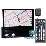 """Soundstream VRN-75HB 7"""" Touchscreen 1-DIN w/ DVD, CD/MP3, AM/FM Receiver w/ GPS Navigation & Android PhoneLink"""