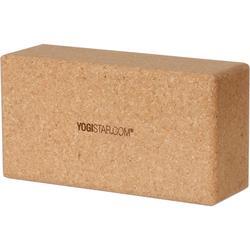 YOGISTAR.COM Yoga Block in kork, Größe Einheitsgröße