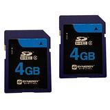 Samsung SL600 Digital Camera Memory Card 2 x 4GB Secure Digital High Capacity (SDHC) Memory Cards (1 Twin Pack)
