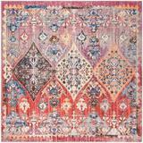 World Menagerie Culross Rose Area Rug in Pink, Size 84.0 H x 84.0 W x 0.32 D in | Wayfair WLDM1082 34876249
