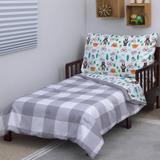 Carter's® Woodland Boy 4 Piece Toddler Bedding Set Polyester/Cotton Blend in Green/White | Wayfair 3412416