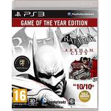 Batman: Arkham City - Game of the Year (PS3) UK IMPORT REGION FREE