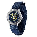 Game Time Milwaukee Brewers MLB Tailgater Series Youth Watch - Velcro Strap