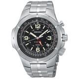 Seiko Men's SUN009 Kinectic Flight Computer Watch