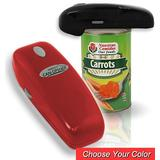 Hands Free Red Electric Can Opener