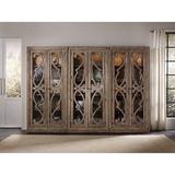 "Birch Lane™ Lieberman Lighted Curio Cabinet, Wood/Solid Wood in Brown, Size 88""H X 42""W X 16""D | Wayfair 5291-50001"