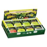 Green Tea Assortment, Individually Wrapped, Eight Flavors, 64 Tea Bags/Box, Sold as 1 Box by Bigelow Tea