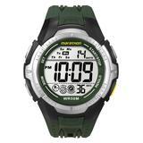 Marathon by Timex Digital Men's Watch with Greenish Rubber Strap - T5K516
