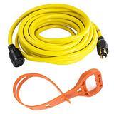 iMeshbean 30 Amp 20 FT NEMA L14-30 4 Wire 10 Gauge 125/250V Generator Power Cord 20601-020 Heavy Duty Cord M#01 USA