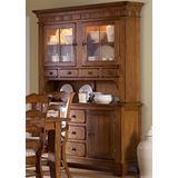 Liberty Furniture Industries Treasures Dining Hutch & Buffet, W62 x D20 x H85, Rustic Oak