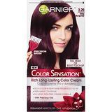 Garnier Hair Color Sensation Rich Long-Lasting Color Cream, 3.26 Deep Burgundy