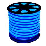 XUNATA Waterproof LED Neon Rope Light 12V SMD 2835 120 LEDs/m Flexible LED Strip Bar Letter Sign Lamp for Garden Patio Party Christmas Thanksgiving Outdoor Decoration (8m LED Strip+Connector, Blue)