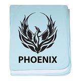 CafePress Phoenix Baby Blanket, Super Soft Newborn Swaddle