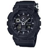 Casio G-Shock Analog Digital Nylon Band Resin Sports Watch (Black)