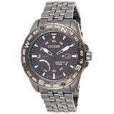 Citizen AW7047-54H Mens Eco-Drive Watch Citizen PRT Stainless Steel Band
