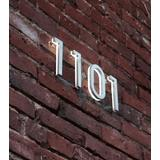 8 inch Illuminated House Numbers by Luxello
