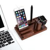 Apple Watch Stand,UnderReef Charge Dock Holder for Apple Watch & Docking Station Cradle Bracket for iPod iPhone iPad & Other Phones Tablets (Rosewood)