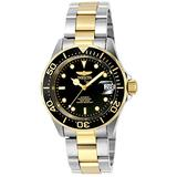 Invicta Men's Pro Diver 40mm Steel and Gold Tone Stainless Steel Automatic Watch, Two Tone (Model: 8927)