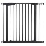 Munchkin kids Easy Close Extra Safety Gate, Metal in Gray, Size Long | Wayfair 46765