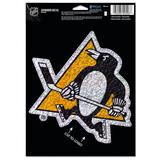 """""""WinCraft Pittsburgh Penguins 5"""""""" x 7"""""""" Shimmer Decal"""""""