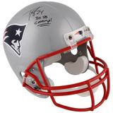 """""""Ty Law New England Patriots Autographed Riddell Replica Helmet with """"""""3x SB Champ"""""""" Inscription"""""""