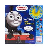 Thomas and Friends - On Time with Thomas - Learn to Tell Time Sound Book with Interactive Toy Clock - PI Kids