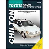 Toyota Sienna Automotive Repair Manual: 1998 to 2010 (Haynes Automotive Repair Manuals)