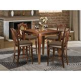 5 PC counter height set-pub Table and 4 Kitchen Chairs.