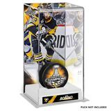 """""""Nick Bonino Pittsburgh Penguins 2017 Stanley Cup Champions Logo Deluxe Tall Hockey Puck Case"""""""