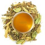 Nargis Ayurvedic Loose Leaf Cooling Tea/100% Natural Herbal Anti Oxidant Soothing Refresh Vata Tea w/ Rose, Cinnamon, Cardamom, Ginger & Fennel/Indian Organic Flavor Relax Tea, 10.58 oz